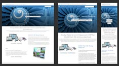 Aviation Online Responsive Website